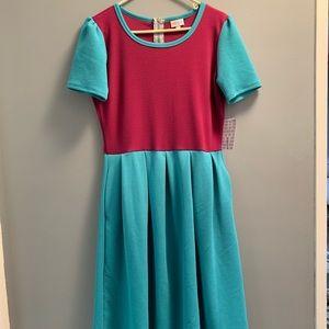 NWT Lularoe Amelia Dress Size Large